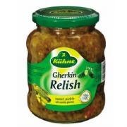 Kuhne German Sweet Gherkin Relish